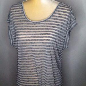 Victoria Secret |  Striped Blouse